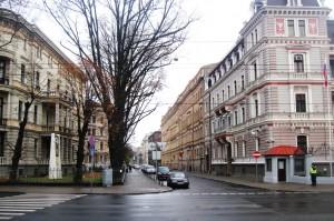 Antonijas, no 1942. līdz 1944. gadam Ernsta fon Bergmaņa iela 2011. gadā