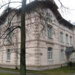 Agrākās Šēnfelda slimnīcas ēkas. 2015. gada foto
