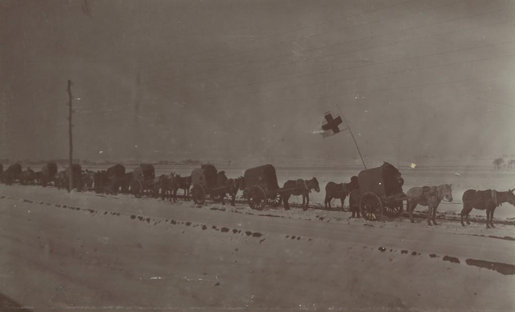 Sanitārā transporta kolona